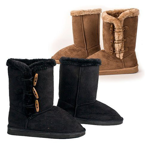 Women's Australian Style Boots w/ Side Toggle Only $19.99 Plus FREE Shipping!