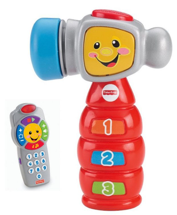 FREE Laugh & Learn Click n' Learn Remote WYB Select Fisher-Price Toys! Starting $9!