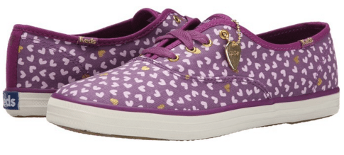 Keds Women's Taylor Swift Mini Hearts Fashion Sneaker Just $19.68 Down From $55!