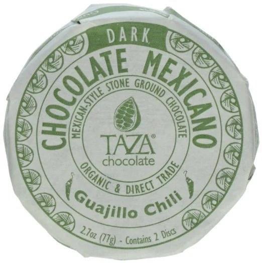 Taza Chocolate Mexicano Chocolate Disc, Guajillo Chili, 2.7 Ounce Just $6.38!