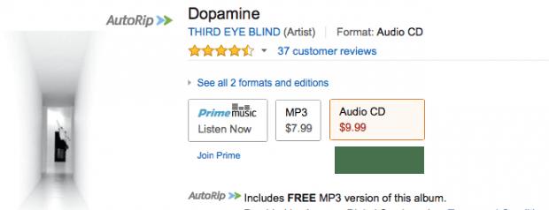 Third Eye Blind - Dopamine - Digital Download Or CD!