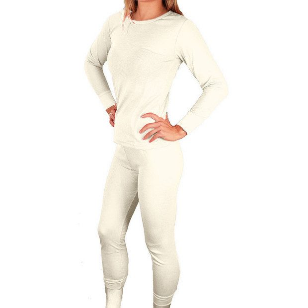 Women's Cozy Thermal Top & Matching Pants Just $8.99! Ships FREE!