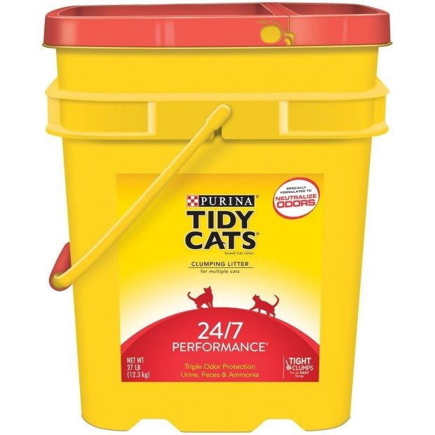 Tidy Cats Brand Clumping Cat Litter Only $9.99!  (Reg. $22)