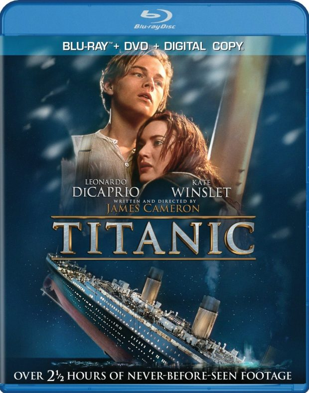 Titanic (Four-Disc Combo: Blu-ray / DVD / Digital Copy) Was $27 - Now Just $8.49!