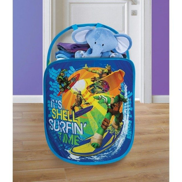 Playhut Pop N Play Laundry Tote - Teenage Mutant Ninja Turtles Only $3.11!  (Reg. $15)