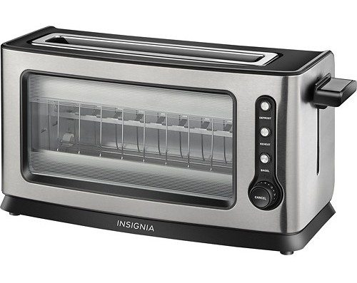 Toaster - Stainless-Steel - 2-Slice Only $11.99!