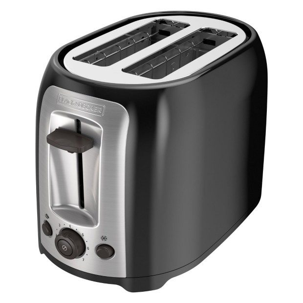 BLACK+DECKER TR1278B 2-Slice Toaster, Black Only $18.48! (Reg. $30)