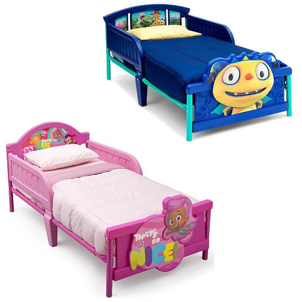 Disney Or Nickelodeon Toddler Beds Only $19.98! (Reg. $49.98!)