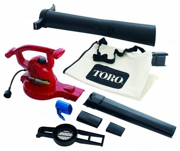 Toro 12 Amp Variable Speed Electric Leaf Blower / Vacuum Only $80.57!