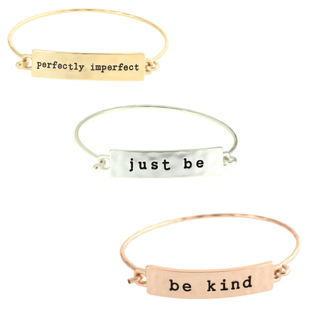Stackable Stamped Tribe Bracelets Only $9.99! Ships FREE!