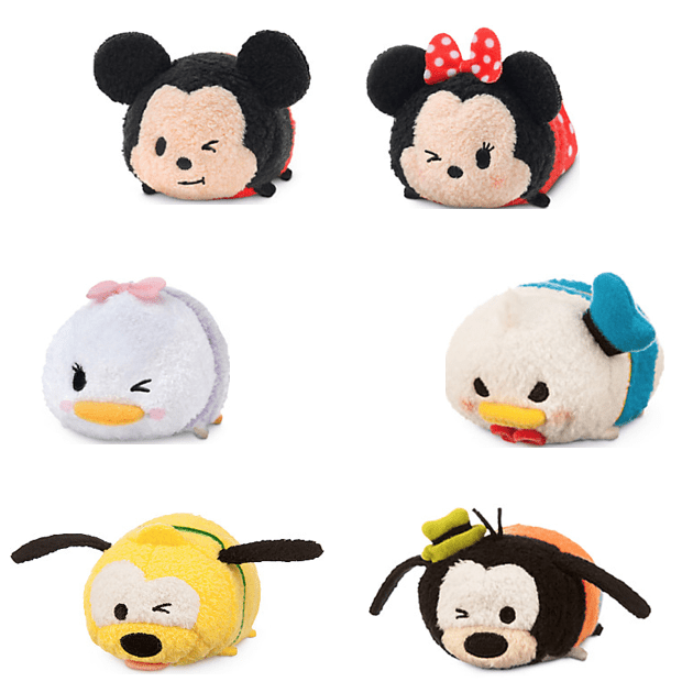 "Mickey Mouse & Friends ""Tsum Tsum'' Mini Plush Collection Just $4.95!"