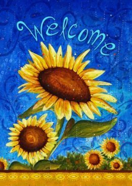"""Sweet Sunflowers 28"""" x 40"""" Double-Sided Flag Only $13.61 (Reg. $22)"""