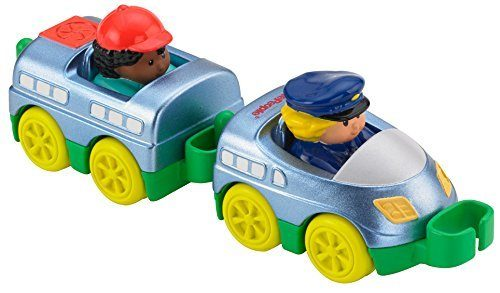Fisher-Price Little People Wheelies Train Toy, 2-Pack Just $2.24! (reg. $8.99)