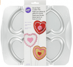 Wilton Heart Pops Cookie Pan Just $6.96 SHIPPED! (reg. $14.71)