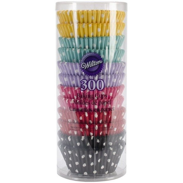 Wilton 300 Count Polka Dots Standard Baking Cups Only $8.99 Ships FREE!