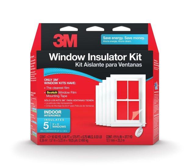 3M Indoor Window Insulator Kit Only $11.73 (Reg. $23!)