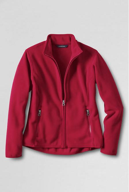 50% Off Outerwear! Women's Fleece Jacket Now Just $22.50!
