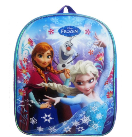 Disney Frozen Mini Backpack with Anna, Elsa & Olaf Only $8.93 + FREE Prime Shipping!