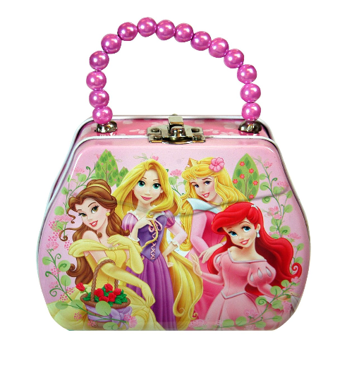Disney Princess Purse Shaped Tin Box With Beaded Handle $6.04 + FREE Prime Shipping (Reg. $13)!