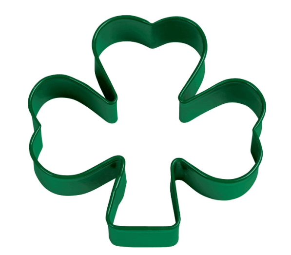 Wilton Green Metal Shamrock Cookie Cutter ONLY $3.56 + FREE Prime Shipping!