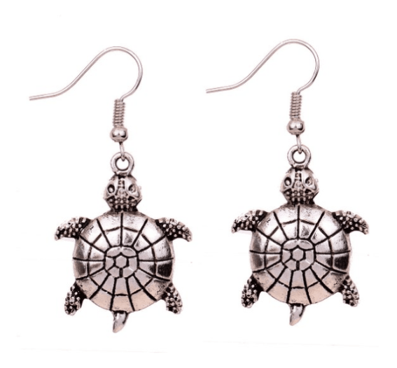 Silver Tortoise Earrings ONLY $3.96 SHIPPED (WAS $15)!