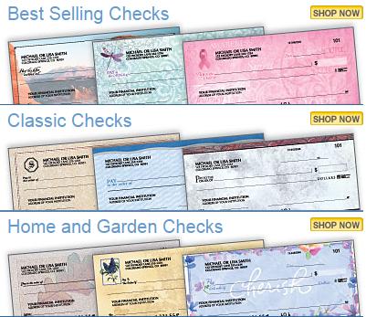 Get 2 Boxes of Designer Checks For Only $8.95 SHIPPED (Reg. $25+)!