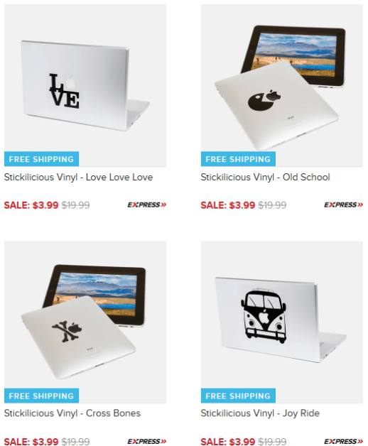 BOGO FREE iPad/MacBook Stickers - Just $3.99 + FREE Shipping (Reg. $20)!