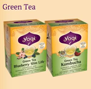 FREE Yogi Green Tea Sample!