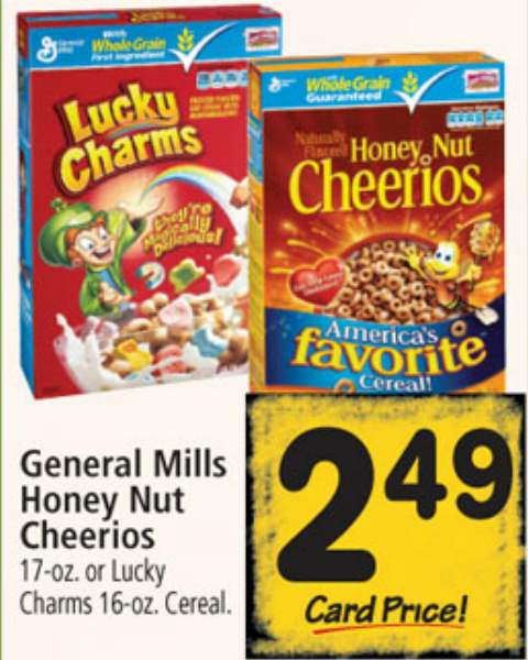 General Mills Honey Nut Cheerios Just $1.99 After Price