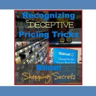 Walmart Shopping Secrets: Recognizing Deceptive Pricing Tricks
