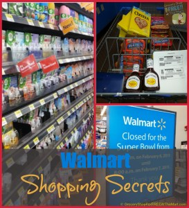Walmart Shopping Secrets