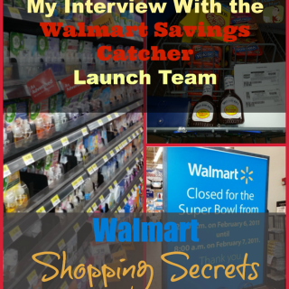Walmart Shopping Secrets: My Interview With the Walmart Savings Catcher Launch Team