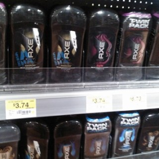 FREE Axe Deodorant With Overage At Walmart!