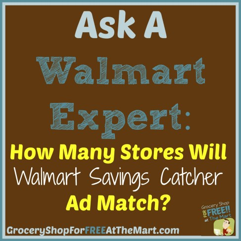 How Many Stores Will Walmart Savings Catcher Ad Match