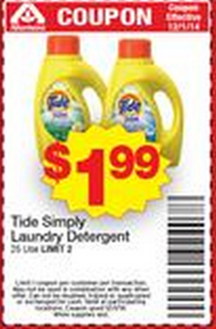 Simply tide printable coupons