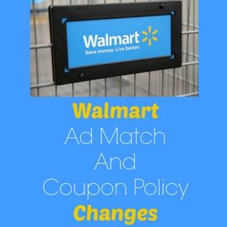 Walmart Tweaks Their Ad Match Policy Again!