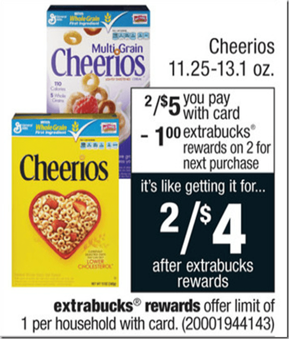 picture about Cheerios Coupons Printable called Multi grain cheerios printable coupon : Cvs 5 off 20 coupon 2018