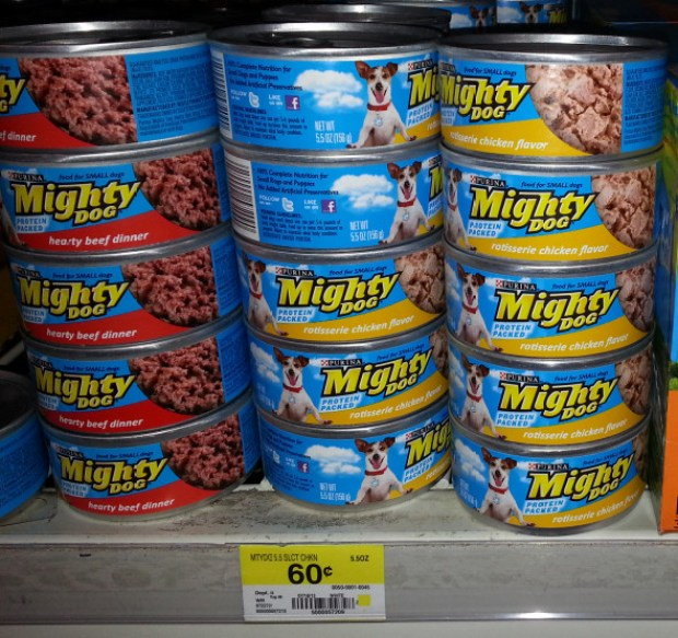 Mighty Dog Dog Food Just $0.43 At Walmart After Coupon!
