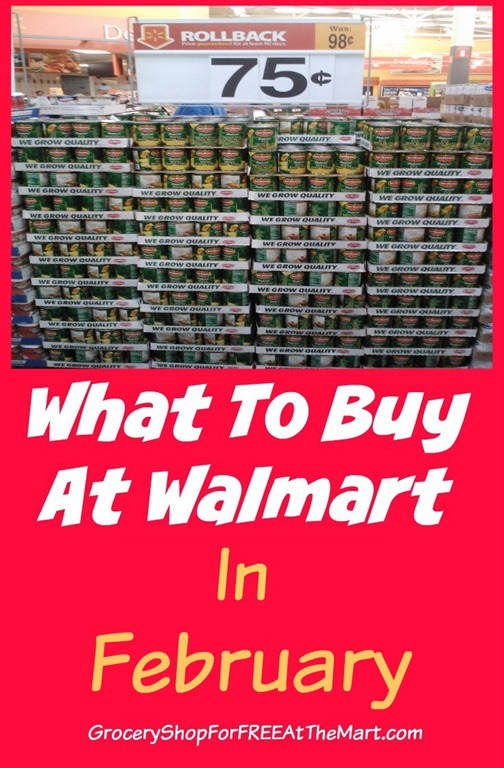 what to buy at walmart in february grocery shop for free at the mart. Black Bedroom Furniture Sets. Home Design Ideas