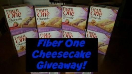New Fiber One Cheesecake Giveaway!