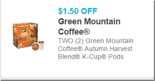 Green mountain printable coupons 2018