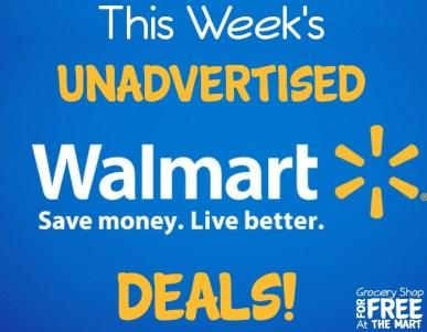 This Week's Unadvertised Walmart Deals!
