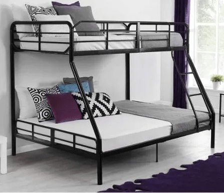 Mainstays Twin Over Full Bunk Bed Just 179 At Walmart