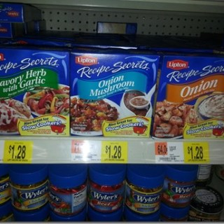 Lipton Recipe Secrets Just $0.98 At Walmart!