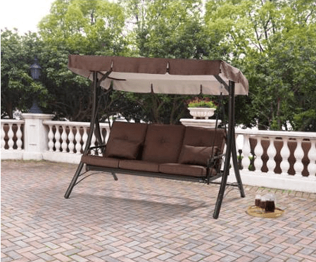 Mainstays Lawson Ridge Converting Outdoor Swing Hammock