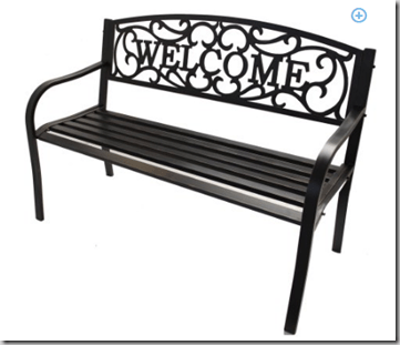 Better Homes And Garden Welcome Bench On Rollback For 59