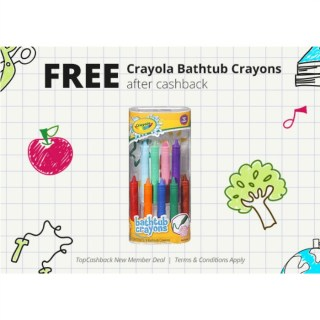 FREE Crayola Bathtub Crayons At Walmart!