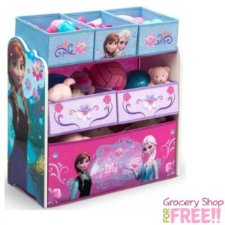 Disney Frozen Multi-Bin Toy Organizer Just $29.84 At Walmart! Down From $60!
