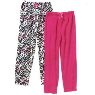 Chili Peppers Girls' Coral Fleece 2 Pack Sleep Pants Just $5.00!