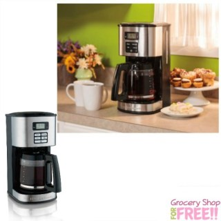 Hamilton Beach 12-Cup Programmable Coffeemaker Just $19 At Walmart! Down From $40!